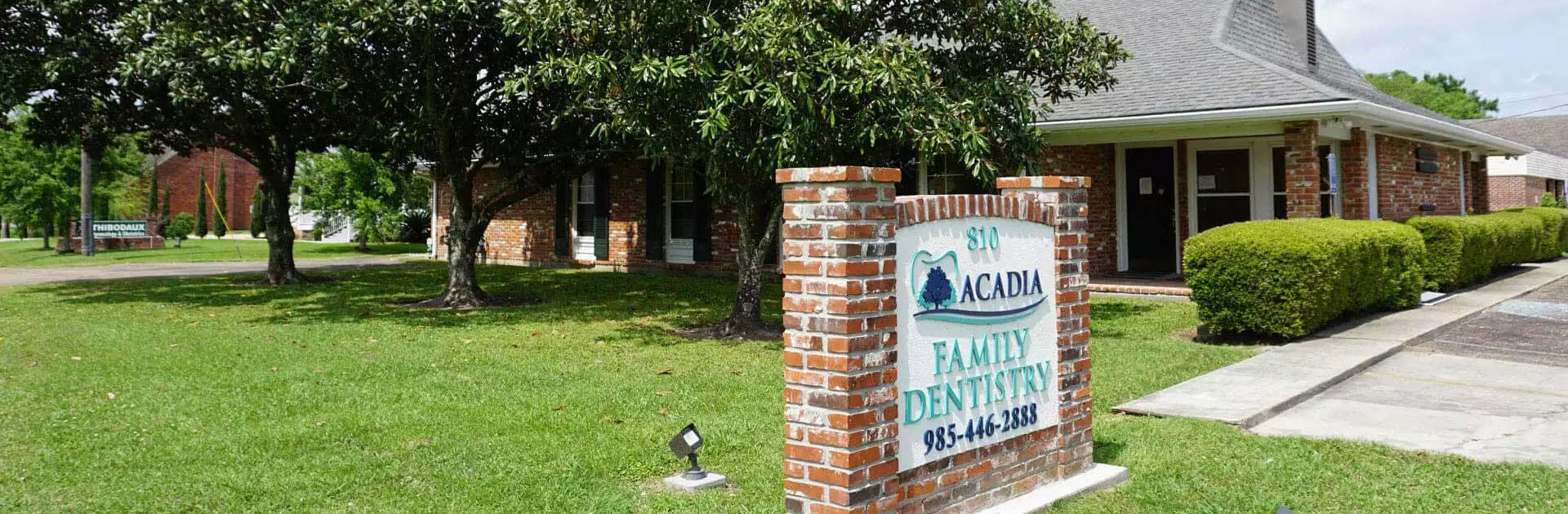 Acadia Family Dentistry Front View