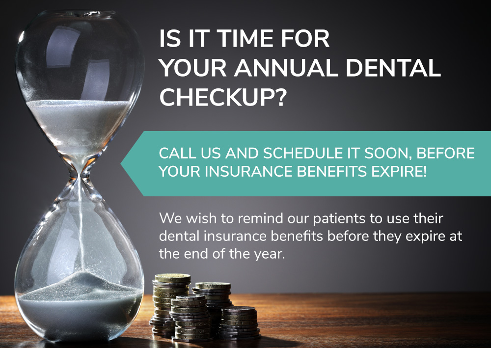 Is it time for your annual dental checkup